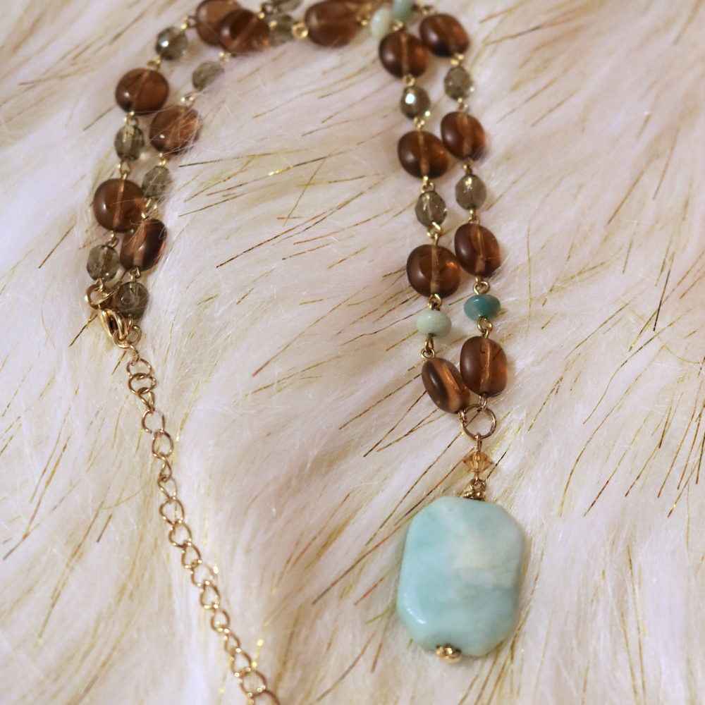 Serenity Larimar Necklace