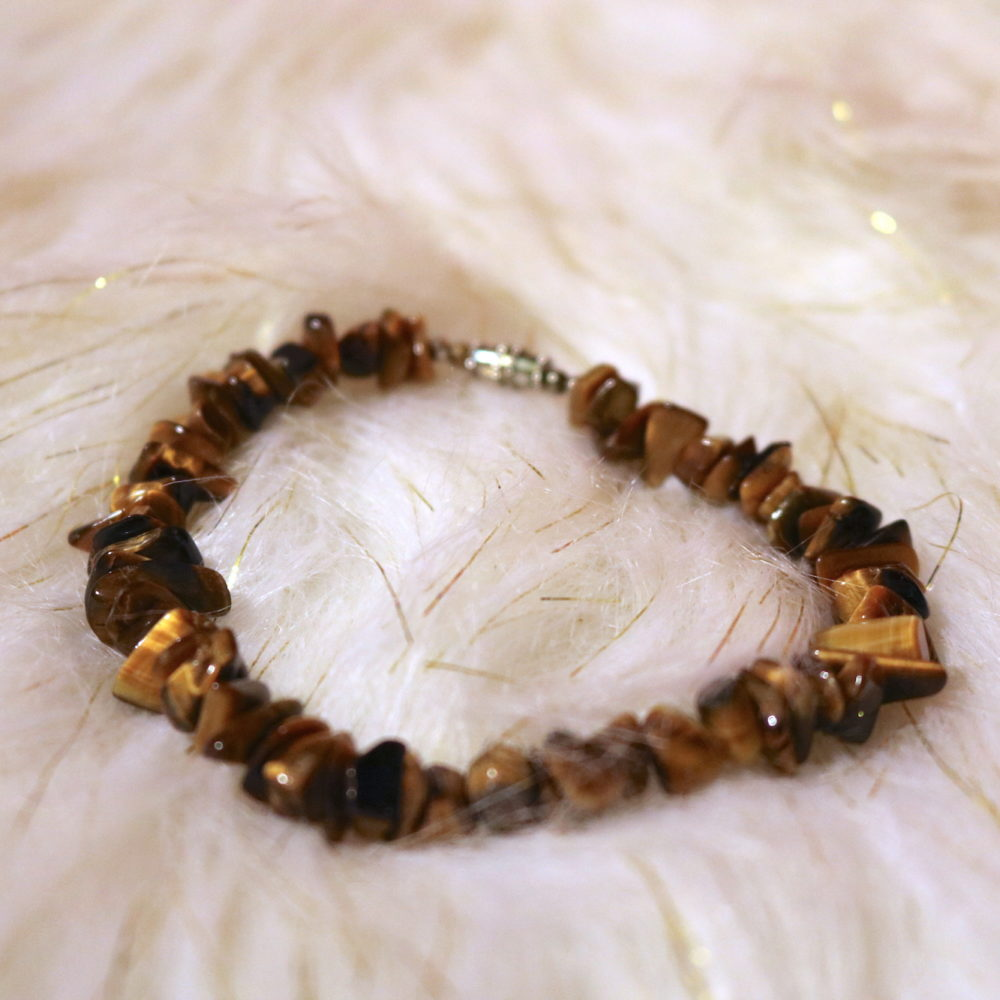 Tiger's Eye Anklet
