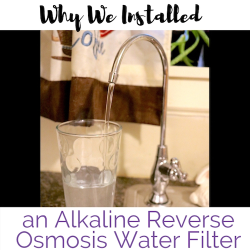 Alkalized Water