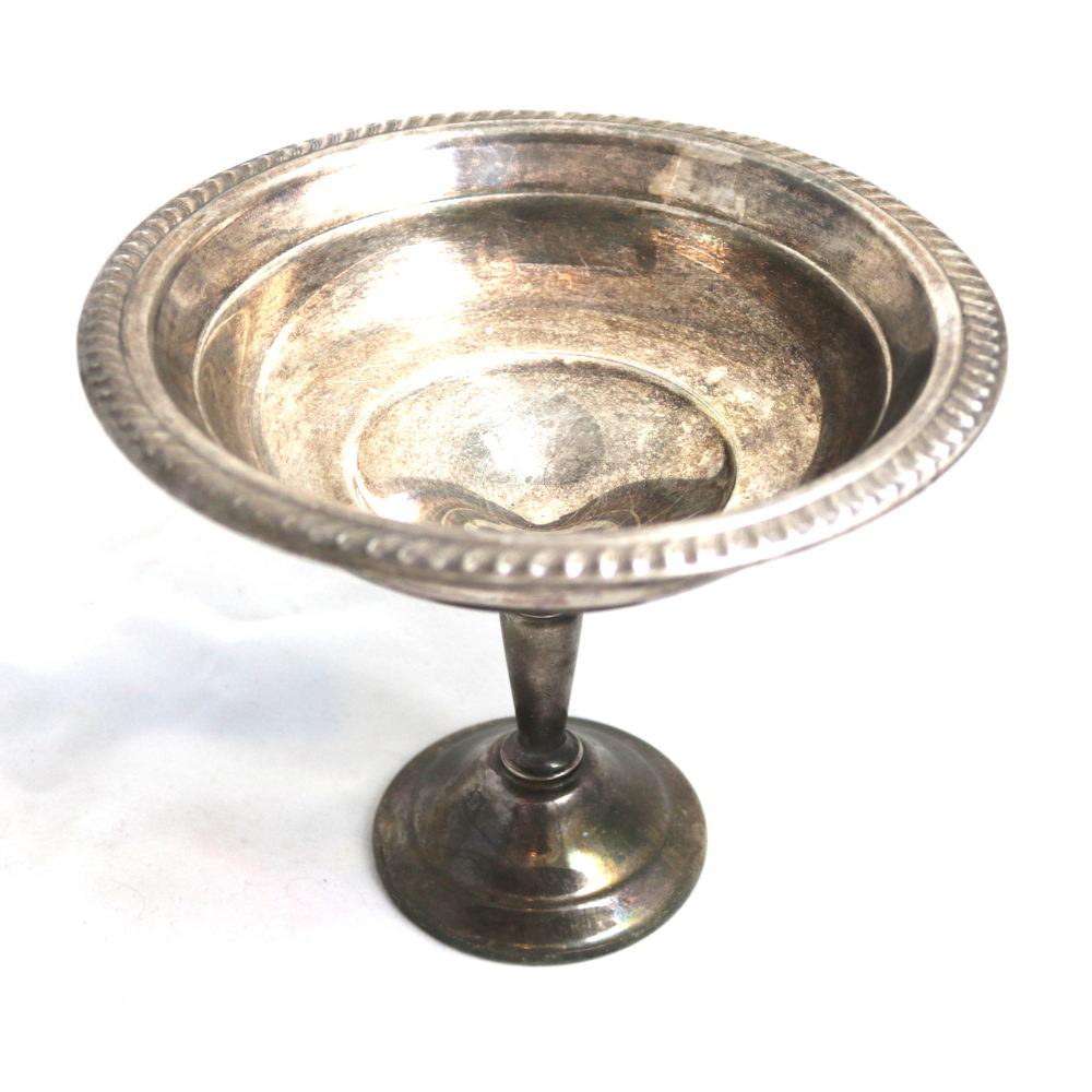 FB Rogers Silver Footed Compote Bowl