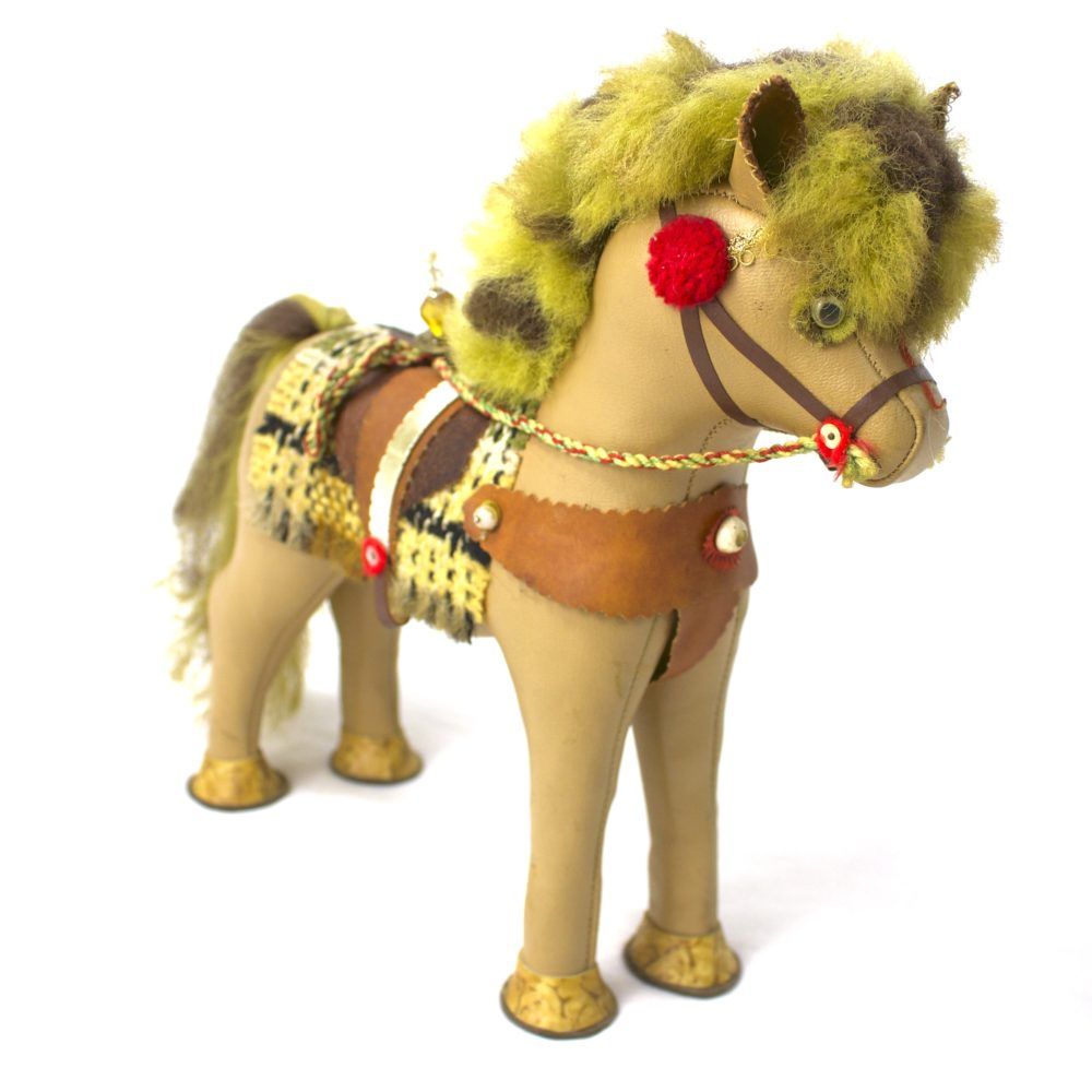 Bohemian Horse Figurine
