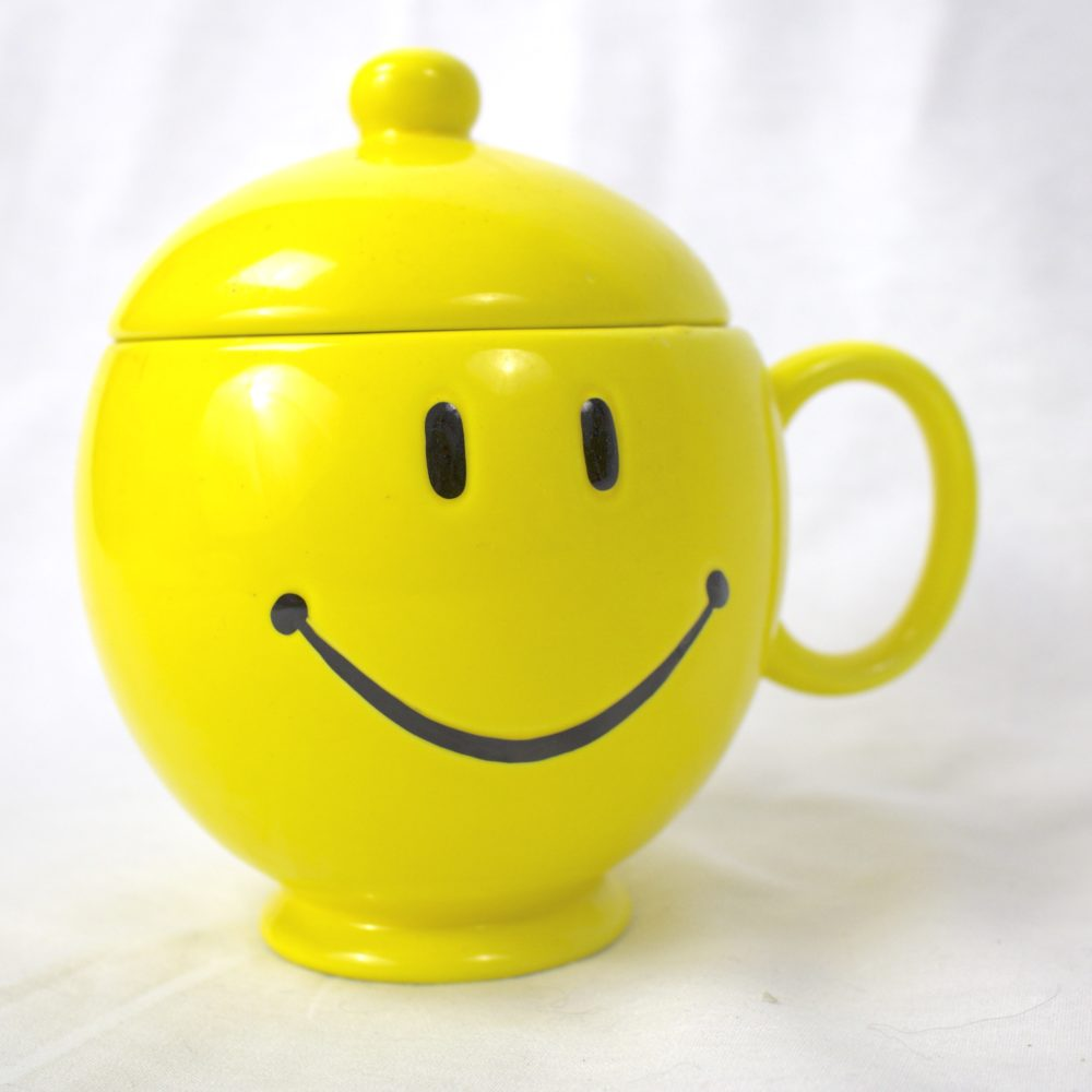 Smiley Face Mug with Lid (1980)
