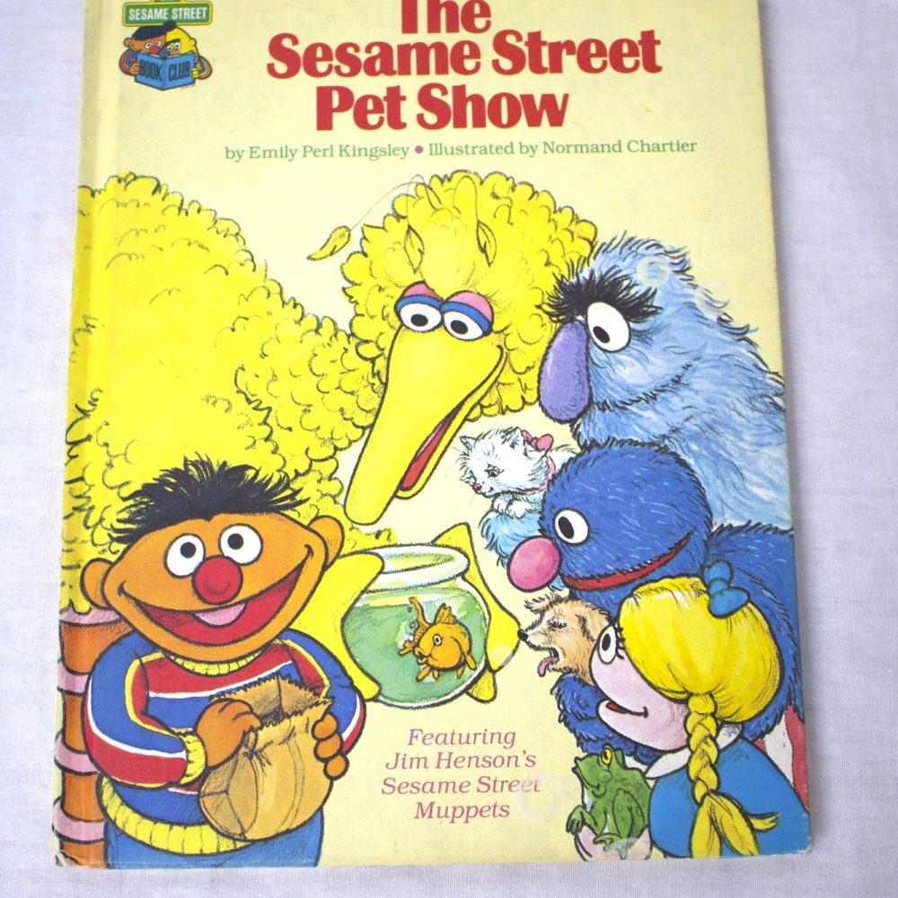 Sesame Street Pet Show Book (1980)
